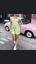 MOTEL-ROCKS-Gaval-Mini-Dress-in-Satin-Rose-Lime-M-Medium-mr25-1 thumbnail 1