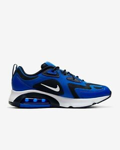 Details about Mens Nike Air Max 200 AQ2568-406 Racer Blue/White-Obsidian  New Size 10.5