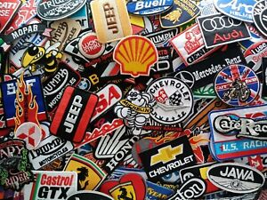 Details about Logo Motorsport Racing Car Motorcycles Gas Oil Embroidered  Patches Iron sew on