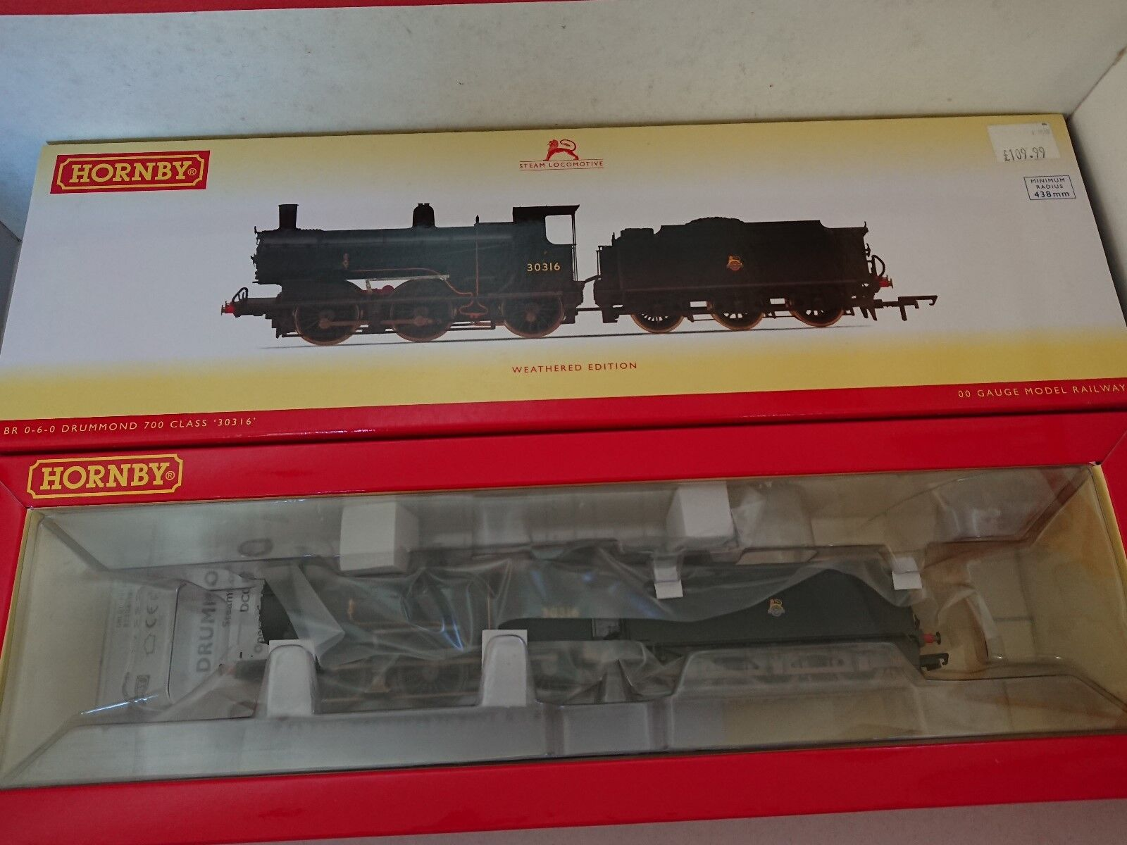 Hornby R3304 BR 0-6-0 Drummond 700 Class No. 30316 Weatherojo DCC Ready NEW
