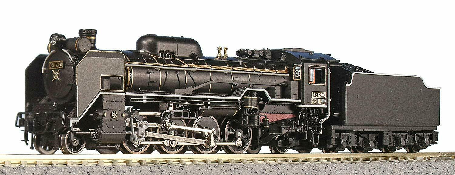 D51 200 Steam Locomotive   Kato 2016-8 N Scale Japan