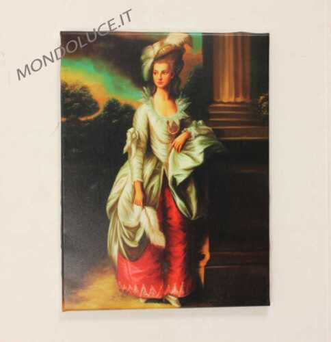 stampa su tela 30x40 dame quadro telaio in legno art.7