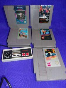1985-Nintendo-Games-amp-vintage-controller
