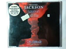 MICHAEL JACKSON Scream cd singolo AUSTRIA JANET DAVID MORALES NAUGHTY BY NATURE