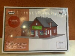 HO 1:87 Scale ANNIE/'S COUNTRY STORE /& BAKERY KIT New Sealed Model Power 208