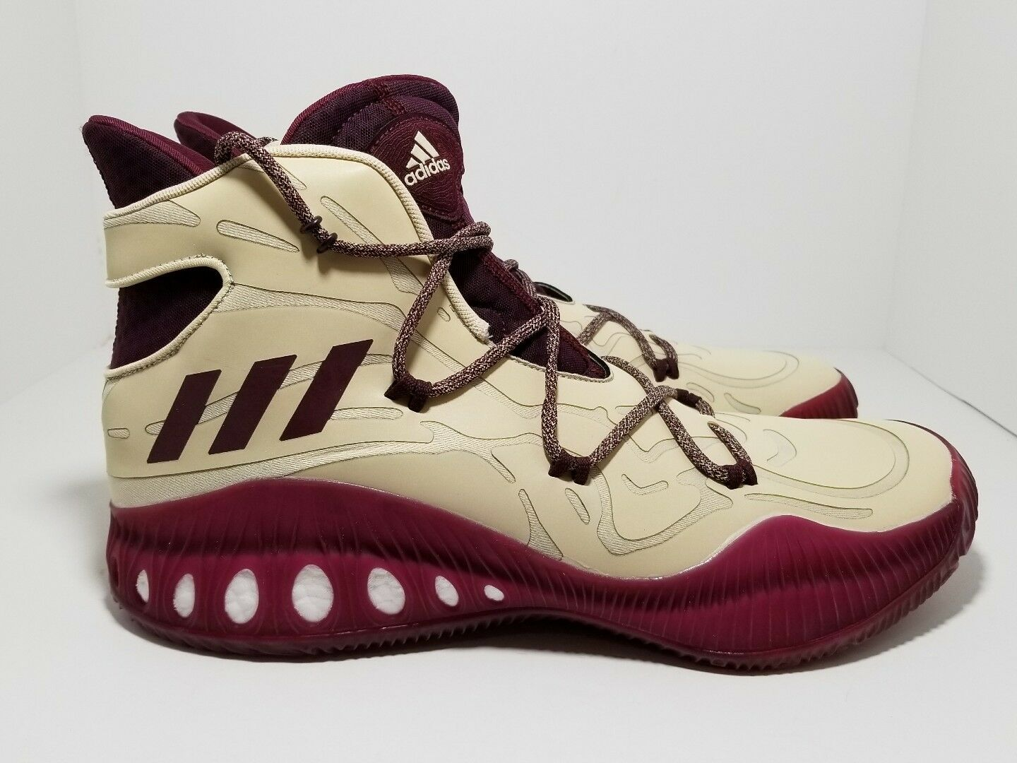 Adidas Crazy Explosive Boost 2016 Xeno Maroon B39467 Men's Shoe Comfortable best-selling model of the brand