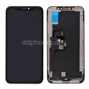 OLED Screen Display with Touch Digitizer Frame Assembly for iPhone X/ XR/ XS