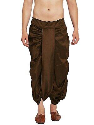 Details about  /Indian Men/'s Trouser Dupion Silk Dhoti Patiala Dhoti Pant Fashion Dhoti Salwar