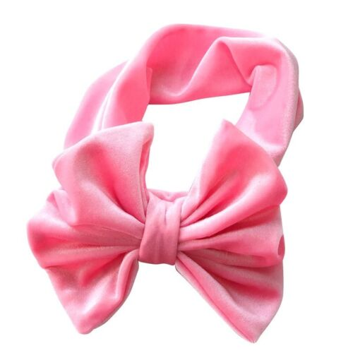 Big Bow Bowknot Velvet Hairband Headband Turban Headwrap for Baby Kids Girls