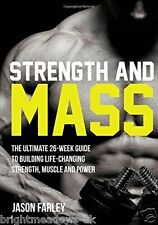 Strength Mass Training Bodybuilding Muscle Fitness Shredded Book Health Weight