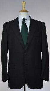 KITON-Mens-Bespoke-3-Roll-2-Button-Superfine-Wool-Suit-Size-40-50-NEW-7500
