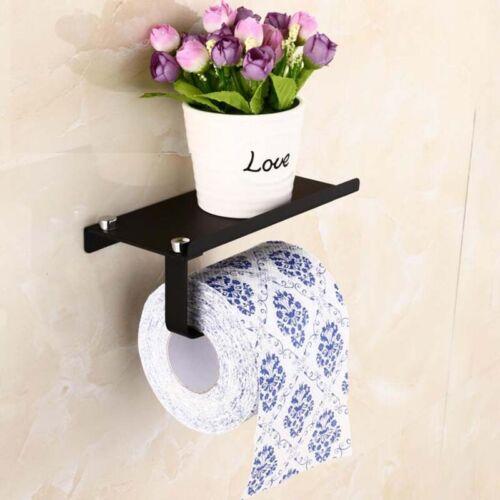 Chrome Poli Papier Porte-rouleau de papier hygiénique en acier inoxydable salle de bain
