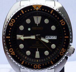 seiko prospex turtle brand new mens automatic 200m divers watch image is loading seiko prospex turtle brand new mens automatic 200m