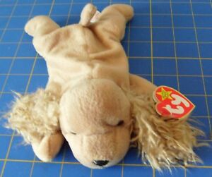 f7efa3a5051 Image is loading Ty-Beanie-Babies-Spunky-Cocker-Spaniel-Dog-1997-