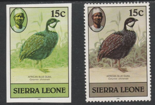 Unmounted Mint Never Hinged Sierra Sierra Leone Leone Block53 complete Issue