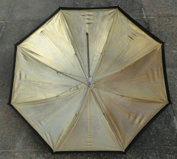 """Pratique Kood 24""""/60cm Noir & Or Réflective Studio Flash Parapluie Aussi Efficacement Qu'Une FéE"""