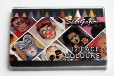 Stargazer Face Paint Crayons - Set of 12 Colours