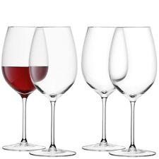 LSA Rosso Vinaccia Calice Vino 420ml - Trasparente - Set di 4