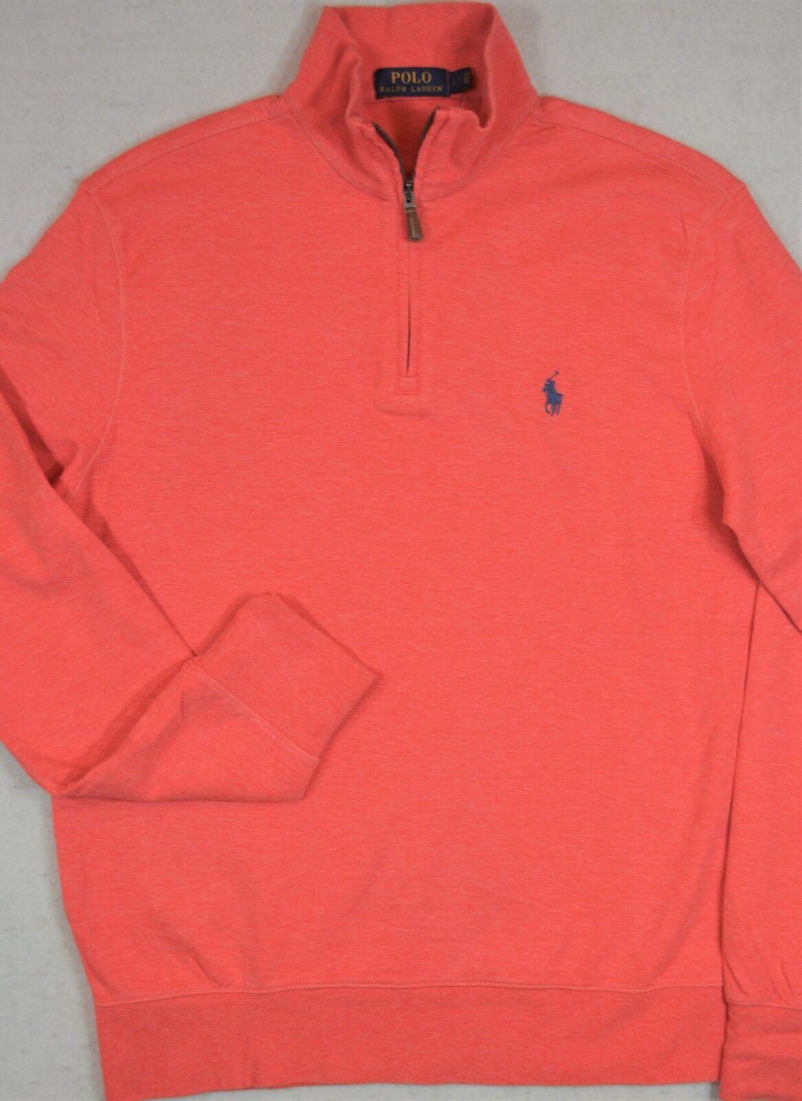 Polo Ralph Lauren Lightweight Jersey Pullover Half-Zip L & XL NWT