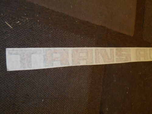 "1970/'s 1980/'s PONTIAC FIREBIRD TRANS-AM TRANS AM DECKLID DECAL 30/"" BLACK RED GOL"