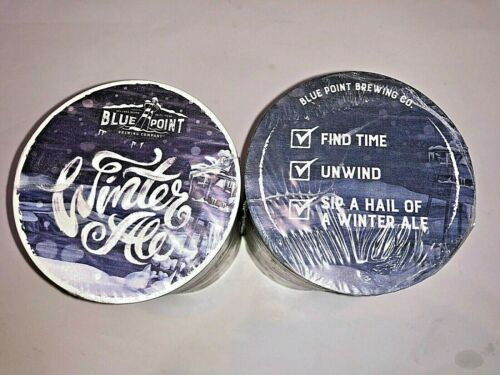 *NEW* SLEEVE of 125 WINTER WIZARD ALE COASTERS BLUE POINT