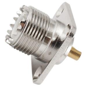 1X-10-Pezzi-di-So239-Pannello-Coassiale-Rf-Connettore-Coassiale-Montaggio-u-L9S7