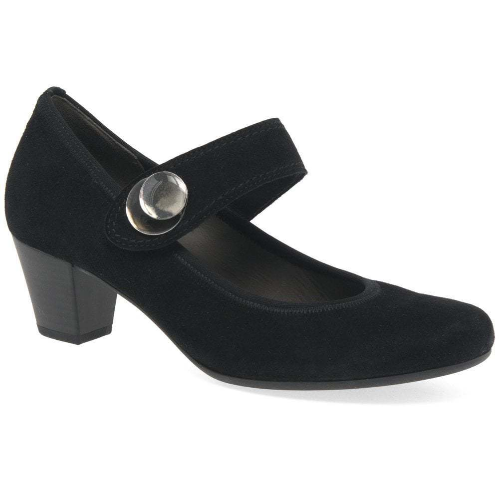Descuento de liquidación Gabor Nola Womens Suede zapatos de Mary Jane corte