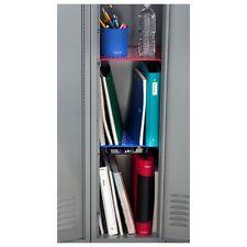 school locker shelf organizer stackable storage wire student college rh ebay com Locker Ideas For Middle School Locker Shelves