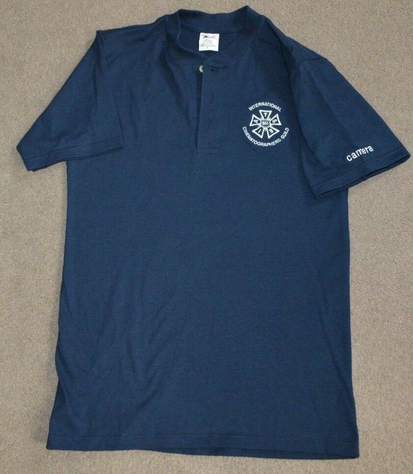 Vtg International Cinematographers Guild Local 600 Shirt Small Union Made in USA