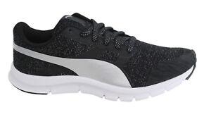 Puma Flexracer GLEAM luccicante con lacci scarpe da Ginnastica Nere donna