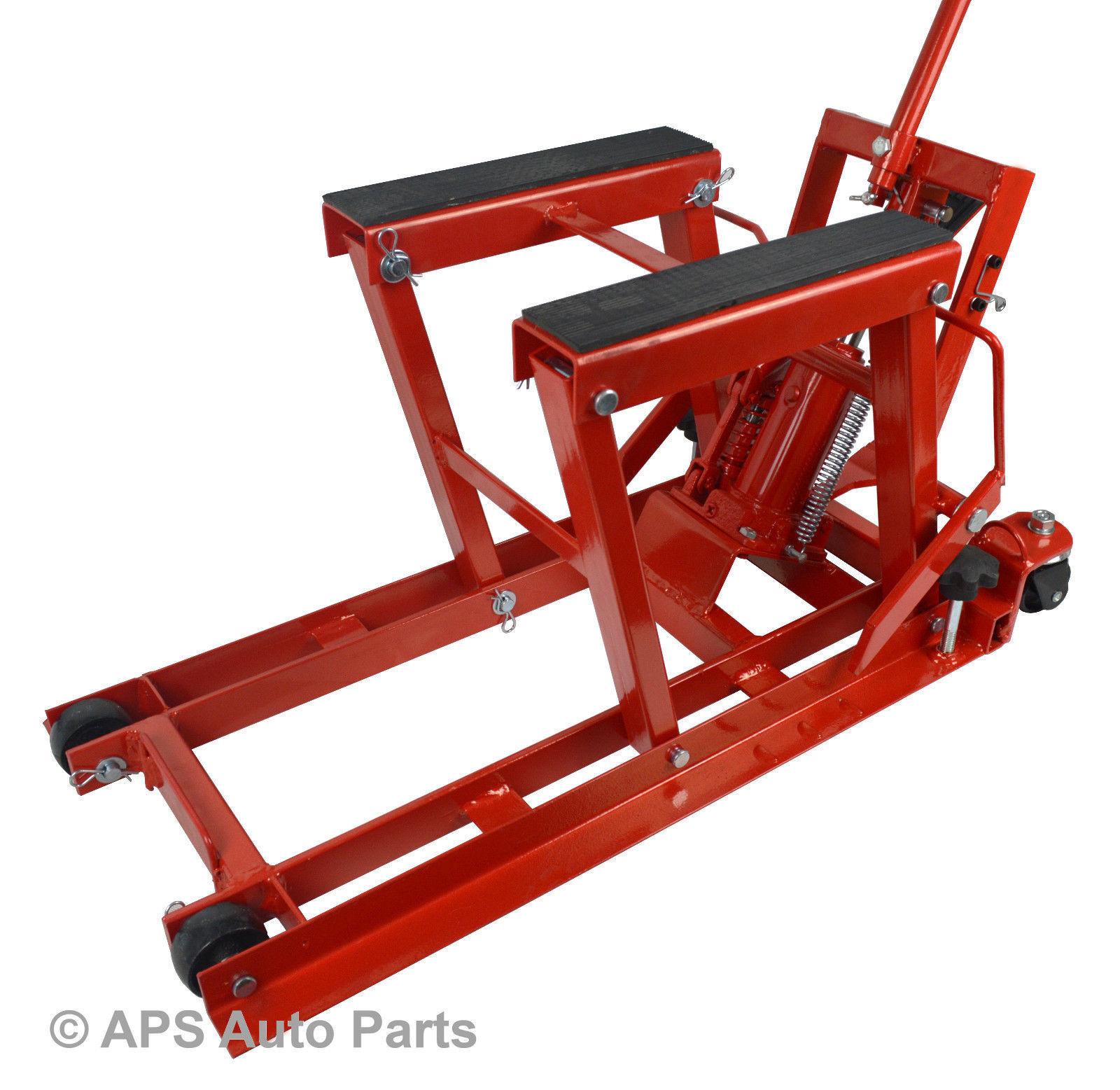 Hydraulic Lift Accessories : Lb hydraulic motorcycle bike lift motorbike atv quad