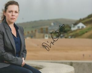 Olivia-Colman-Signed-Broadchurch-10x8-Photo-AFTAL
