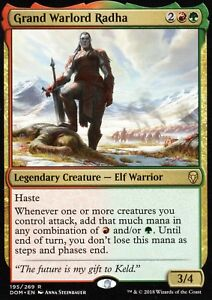 Grand-Warlord-Radha-NM-M-Dominaria-Magic-MTG