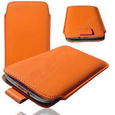 HQ Slim Cover Case Schutz Hülle Etui Tasche für TrekStor WinPhone 4.7 HD ORANGE