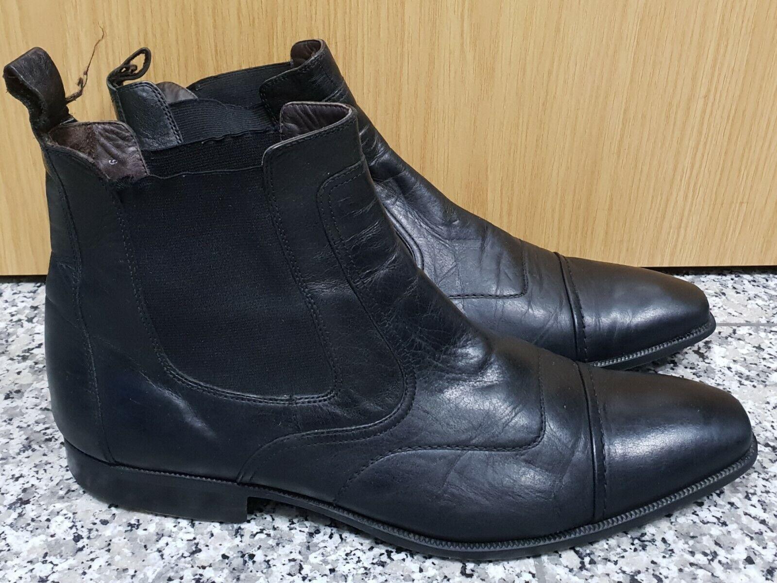 low priced ab2f6 bd5b2 LLOYD Echtleder Stiefel Stiefel Stiefel schwarz Anzug ...