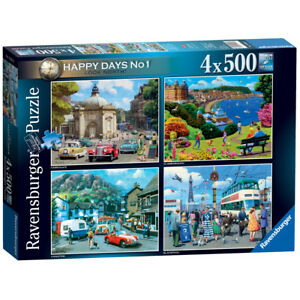 4 in 1 jigsaw puzzles 500 pieces