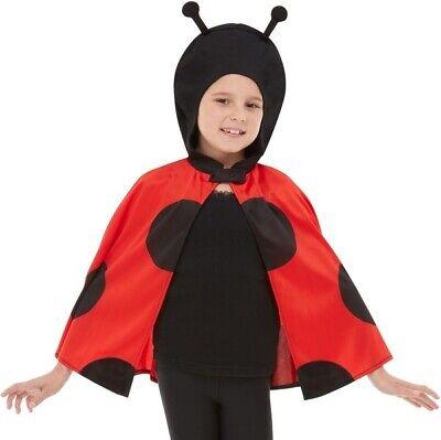 Kinder Marienkäfer Kapuze Cape Marienkäfer Insekten Kostüm Umhang Von Smiffys Geschickte Herstellung