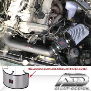BLACK Cold Air Intake Kit /& Filter For 1999-2005 Mazda Miata 1.8L L4 MX5 MX-5