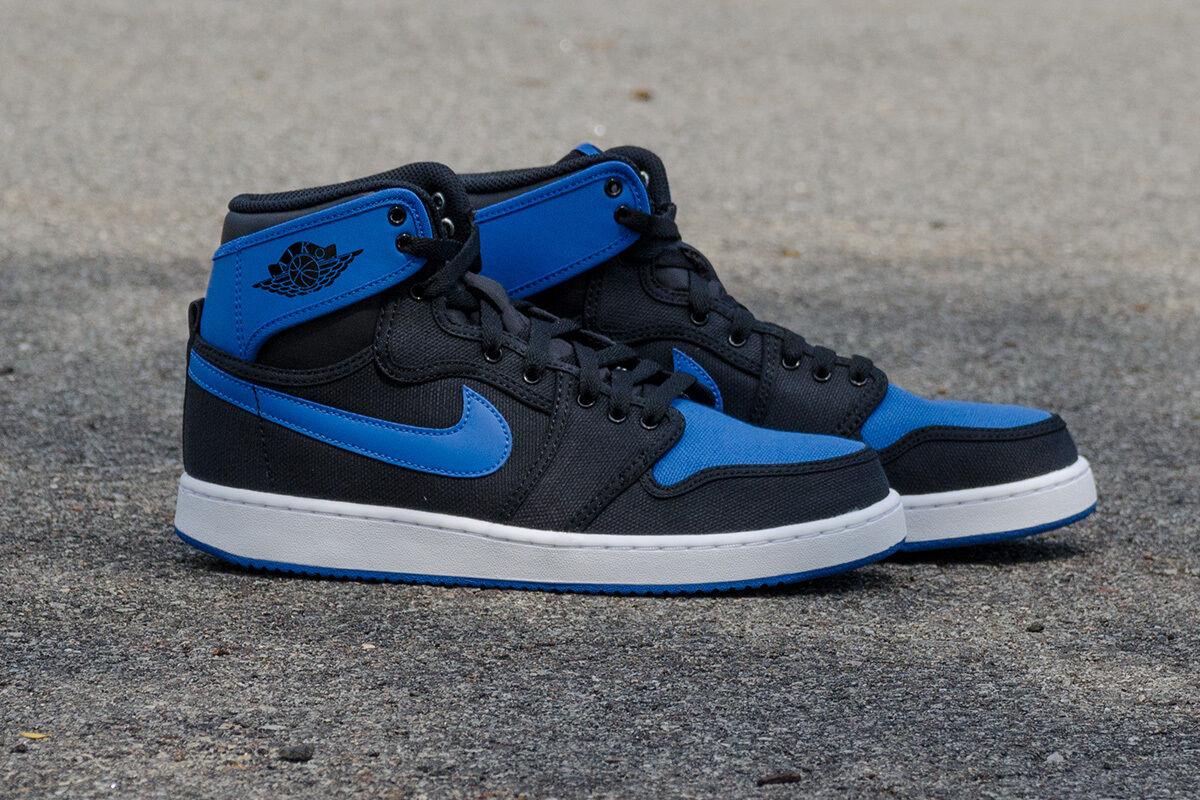 Nike Air Jordan 1 KO AJKO High OG Black Sport bluee Royal concord 638471-007