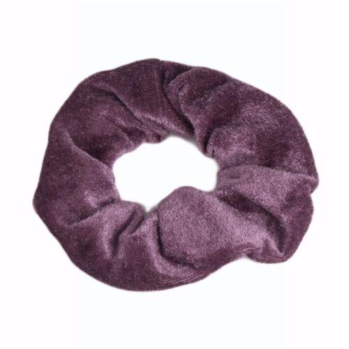 1 Pieces Hair Scrunchies Velvet Scrunchy Bobbles Elastic Hair Bands Holder