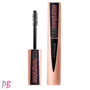 356d37e03f9 Image is loading Maybelline-Total-Temptation-Mascara-Very-Black-Enriched-W-