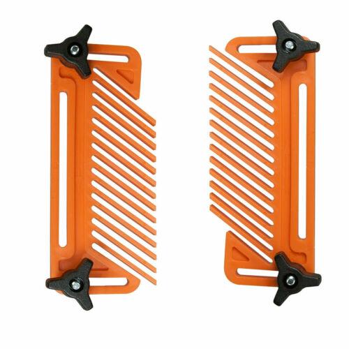 2Federbrett für Router Tischkreissäge Gehrungslehre Zaun Holzbearbeitung Zubehör