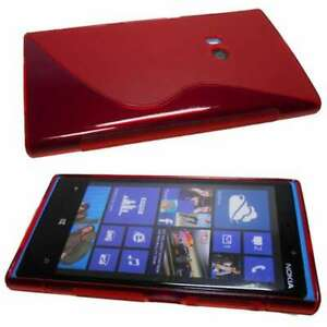 Smartphone-Case-for-Nokia-Lumia-920-TPU-Case-Protective-Cover-in-red