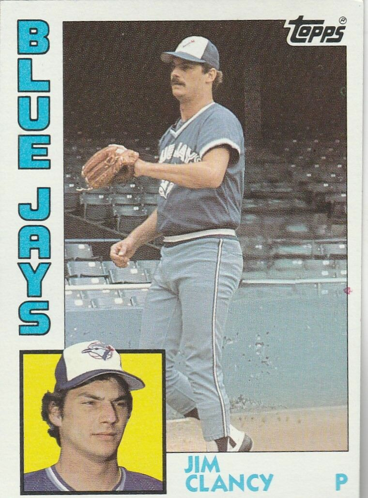 Buy 1984 Topps Jim Clancy 575 Baseball Card Online Ebay