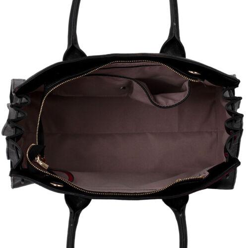 New Womens Designer Bags Ladies Grab Fashion Tote Faux Leather Shoulder Handbags