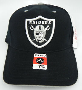 8b2982d3c Image is loading OAKLAND-RAIDERS-NFL-VINTAGE-FITTED-SIZED-AMERICAN-NEEDLE-