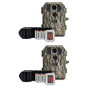 Stealth-Cam-7MP-Infrared-Scouting-Game-Trail-Camera-w-SD-Card-2-Pack-P18CMO