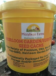 101-VARIETIES-HEIRLOOM-NON-HYBRID-GARDEN-SURVIVAL-SEED-CACHE-WITH-15-HERB-PACK