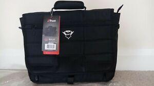 Trust gaming Gxt 1270 bullet messenger 15.6 inch  black laptop bag