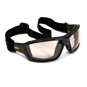 Dewalt Converter Indoor/Outdoor Anti Fog Padded Safety Glasses Sun Goggles